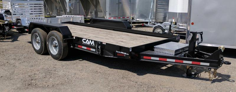 NEW 2021 CAM Superline 20' HD Lo Pro Full Tilt Trailer (8k Axles)