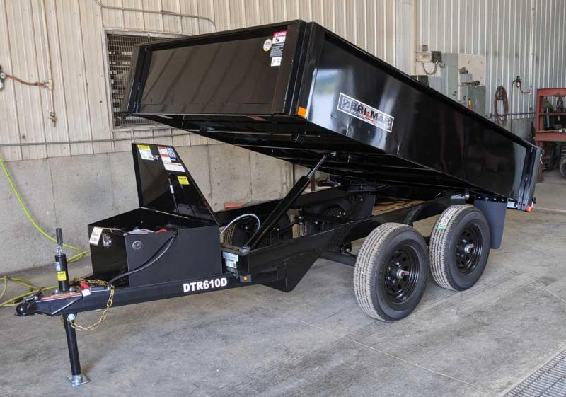 NEW 2020 Bri-Mar 6x10 Deckover Dump Trailer