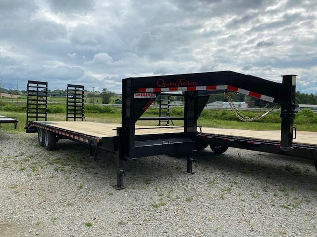 NEW 2020 Quality 20+4 HD PRO Deckover Gooseneck Equipment Hauler