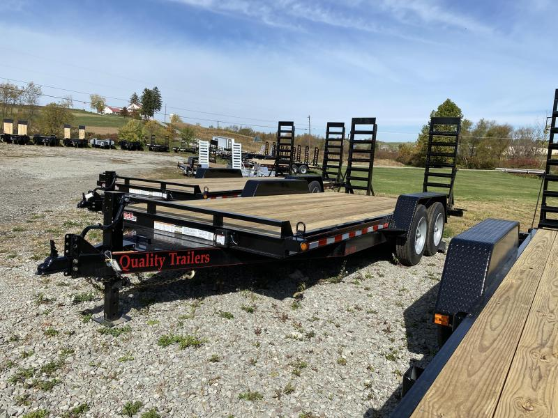 NEW 2021 Quality 18' HD PRO Equipment Hauler w/ 2' Dove Tail