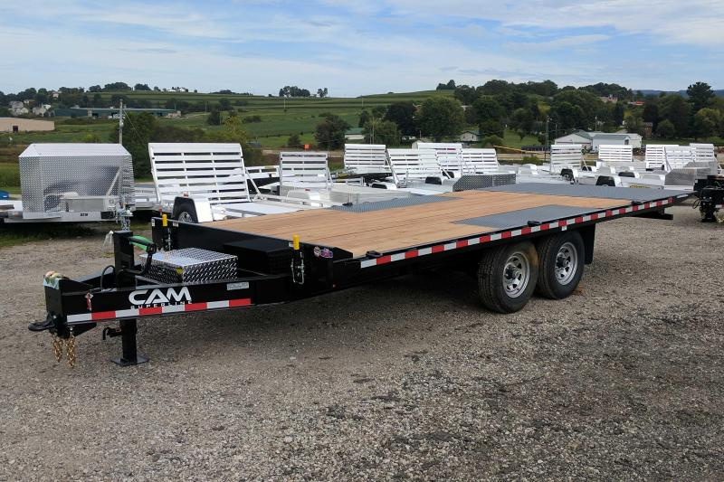 NEW 2021 CAM 22' Deckover Full Tilt Trailer