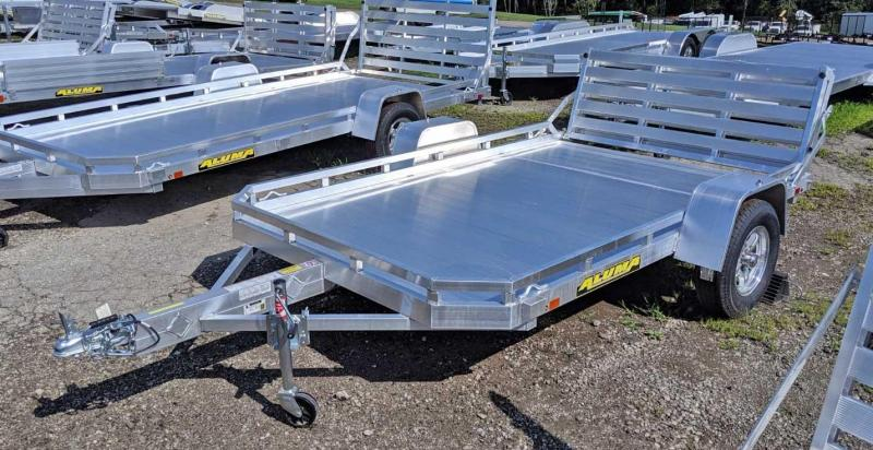 NEW 2022 Aluma 6x10 HD Utility Trailer w/ Bi-Fold Gate