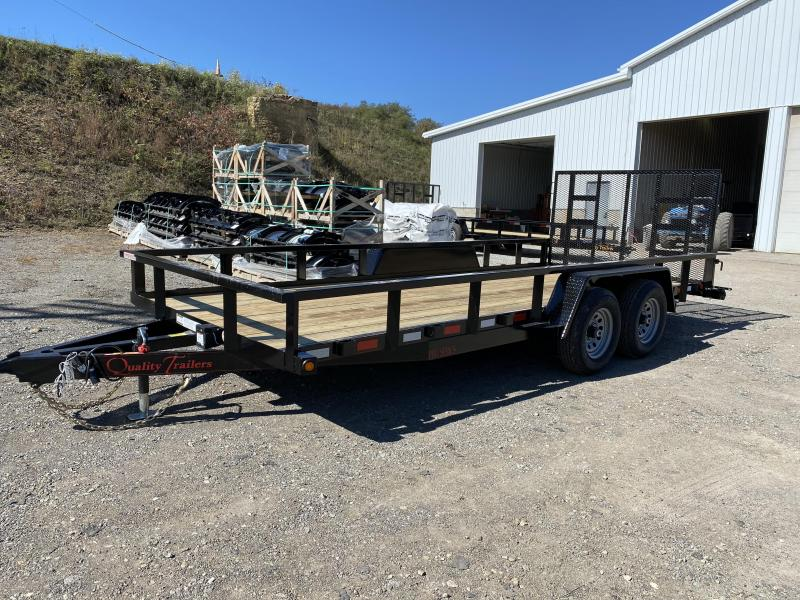 NEW 2021 Quality 7x18 PRO Utility Trailer w/NO DOVE