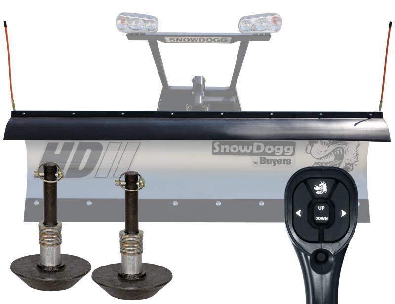 NEW SNOWDOGG 7.5' HD Gen 2 Stainless Steel Snow Plow