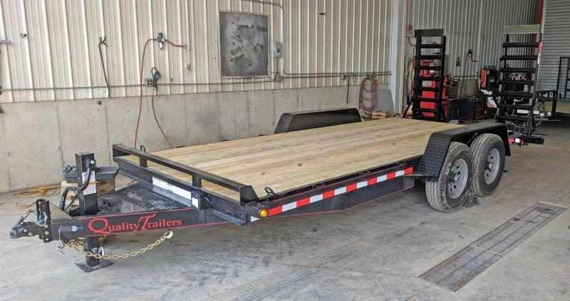 NEW 2020 Quality 18' HD PRO Equipment Hauler w/ 2' Dove