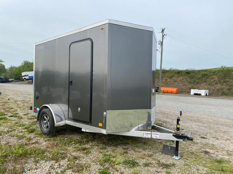 NEW 2022 Legend 6x10 + 1' V-Nose Thunder Cargo Trailer w/ Ramp Door