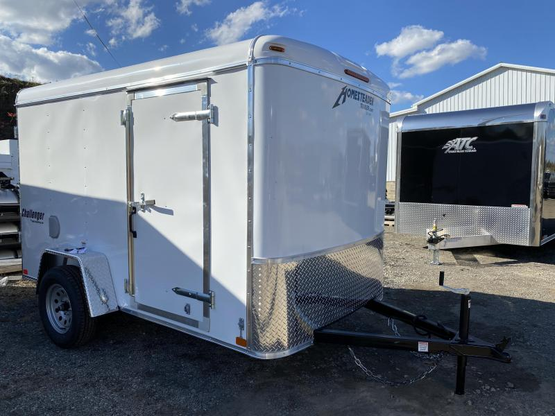 NEW 2021 Homesteader 6x10 Challenger Cargo Trailer w/ Barn Doors