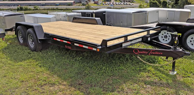 NEW 2021 Quality 20' HD PRO Car Hauler w/ 2' Dove