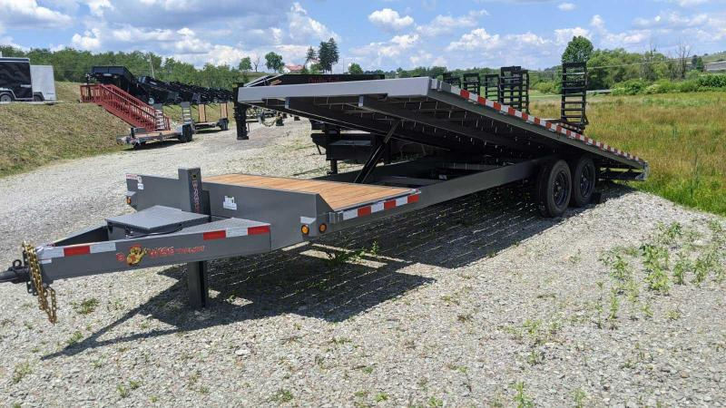 NEW 2020 B-Wise 26' (4' Stationary + 22' TILT) Deckover Tilt Trailer