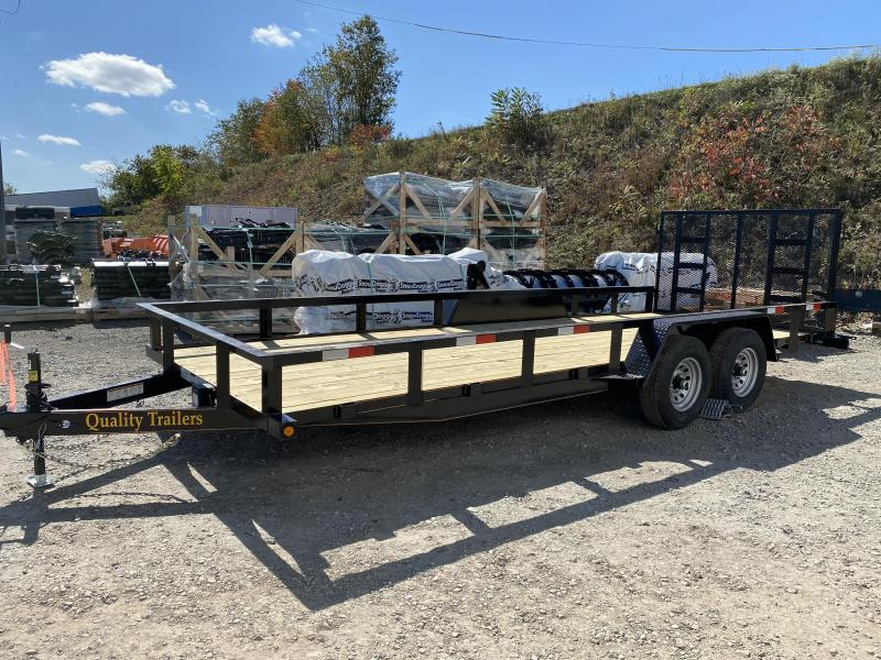 NEW 2021 Quality 7x20 HD General Duty Utility Trailer NO DOVE