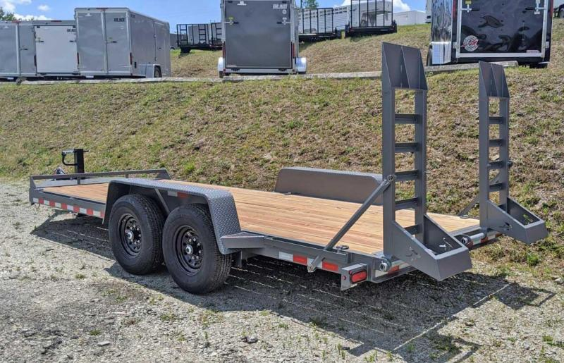 NEW 2020 Bri Mar 18' Lo Pro Equipment Hauler