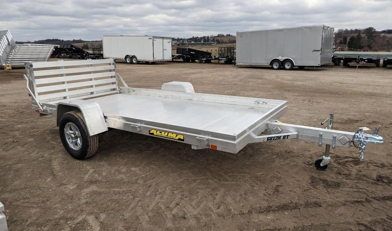"NEW 2022 Aluma 5'8"" x 12 HD Utility w/ Bi-Fold Gate (JUST ARRIVED!))"