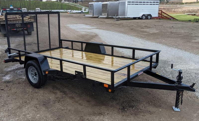 NEW 2021 Gator Made 6x14 Big Boss Utility Trailer w/ Spring Assist Gate