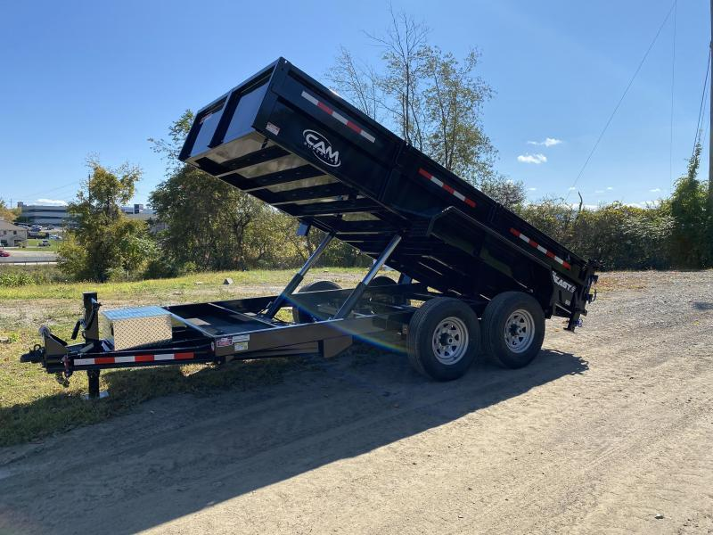 "NEW 2021 CAM 6'9"" x 14' HD ""BEAST"" Lo Pro Equipment Dump w/ Underbody Ramps"