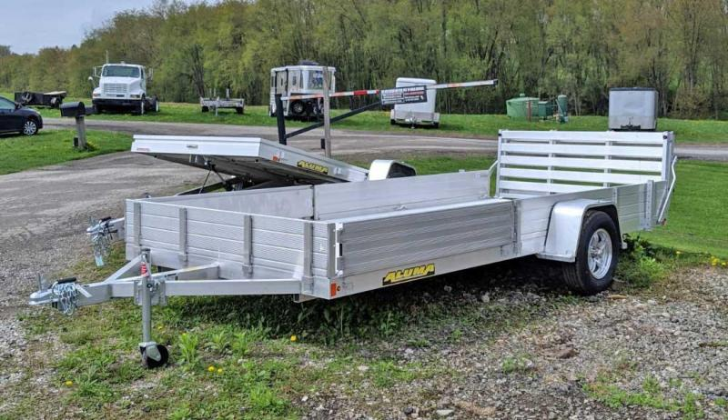 "NEW 2021 Aluma 6'9"" x 15' SR Utility w/ Side Ramps"