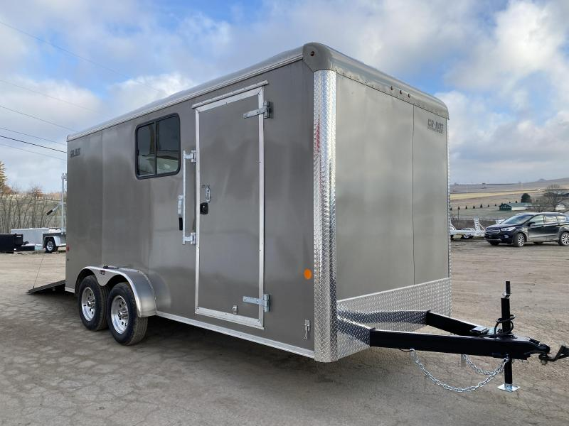NEW 2021 Car Mate 7x16 HD Custom Cargo Trailer w/ Ramp Door & Windows