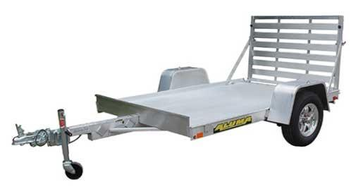 "NEW 2022 Aluma 5'3"" x 8 LW Utility Trailer w/ 4' Gate (Early May Arrival)"