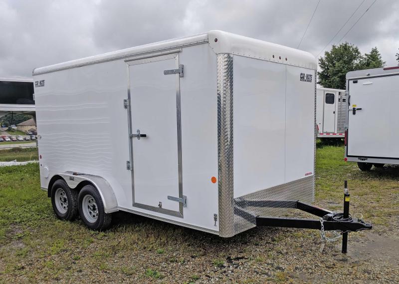 NEW 2022 Car Mate 7x14 HD Custom Cargo Trailer w/ Barn Doors