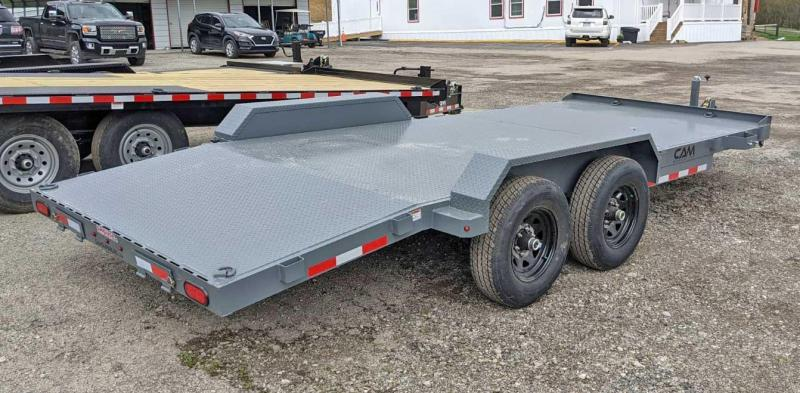 NEW 2021 CAM Superline 18' HD Diamond Deck Car Hauler w/ Underbody Ramps