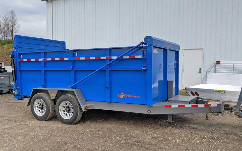 "NEW 2022  BWise 6'9"" x 14 HD Ultimate Dump Trailer w/ Hydraulic Gate (8K Axles)"