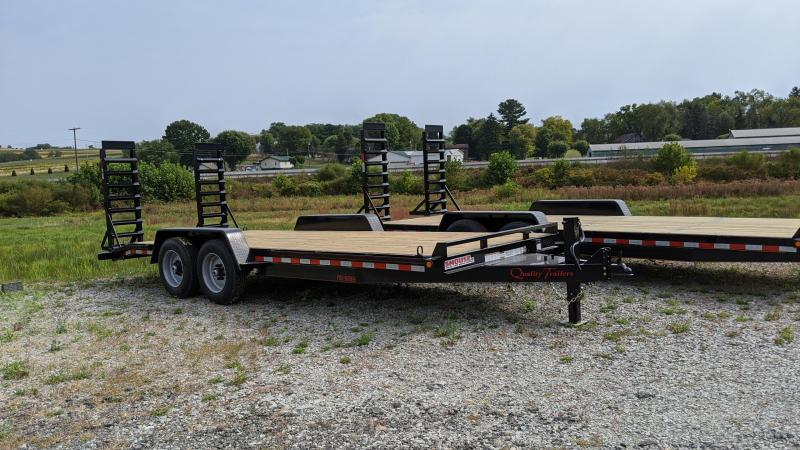 NEW 2021 Quality 20' HD PRO Equipment Hauler w/ 2' Dove Tail
