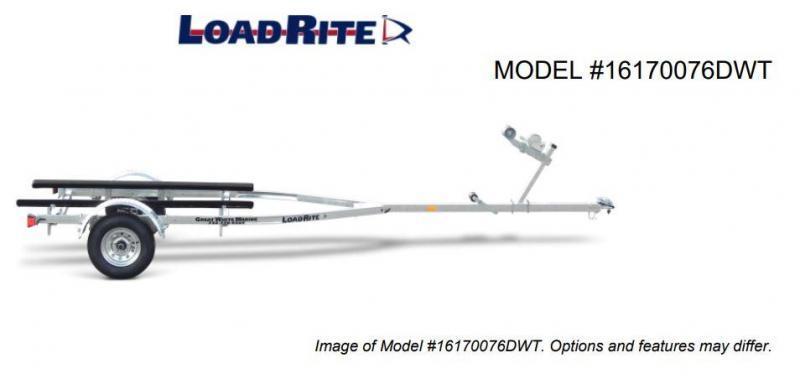 NEW 2022 Load Rite 16' V-Bunk Boat Trailer