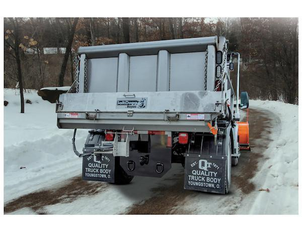 "NEW 2020 SaltDogg 96"" Under Tailgate Electric Stainless Steel Spreader w/ Standard Discharge"