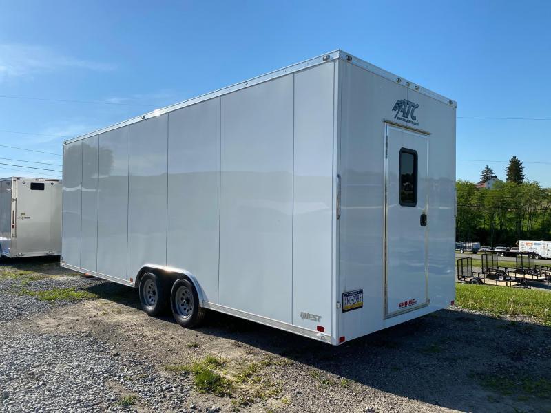 NEW 2021 ATC 8.5 x 24 Quest Cargo Trailer w/ Single Rear Entrance Door