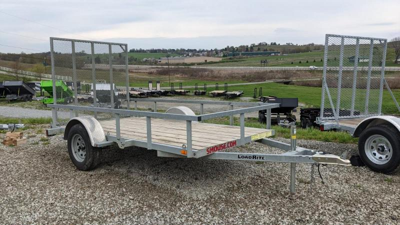 USED 2018 Load Rite 5.5 x 11 Utility Trailer - GALVANIZED