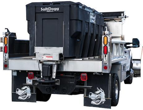 NEW 2020 SALTDOGG 3.0 CU YD PRO POLY HOPPER SPREADER