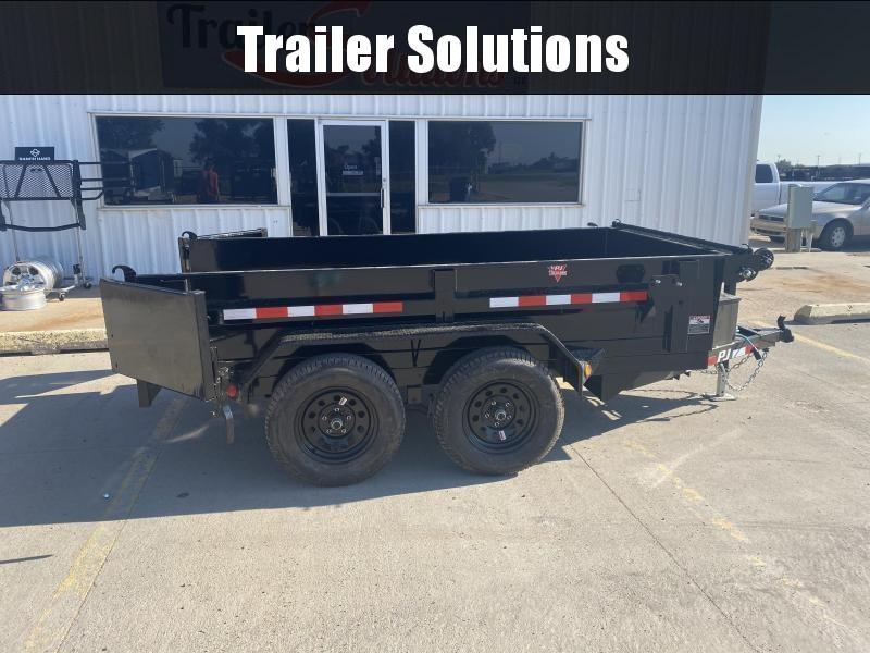 "2022 PJ 10' x 60"" Utility Dump Trailer"