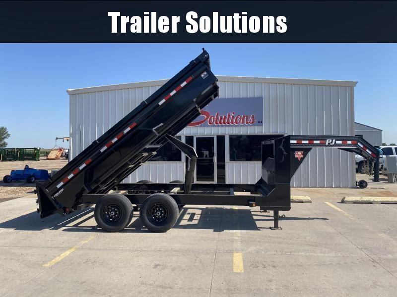 "2022 PJ 14' x 83"" Low Pro Dump Trailer"