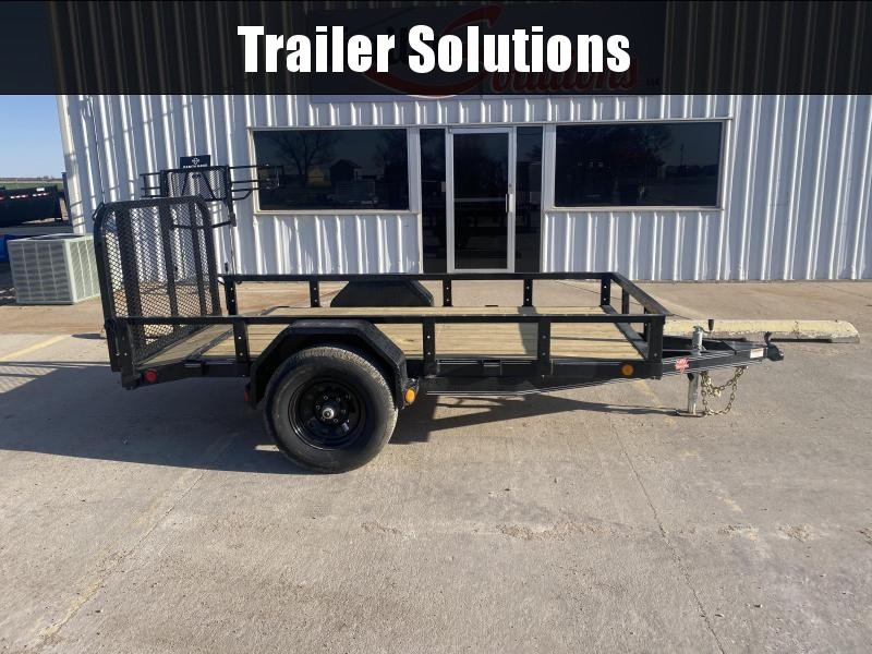 "2021 PJ 10' x 60"" Single Axle Channel Utility Trailer"