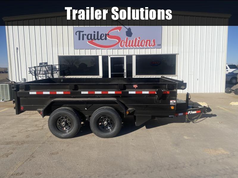 "2022 PJ 12' x 72"" Tandem Axle Dump Trailer"