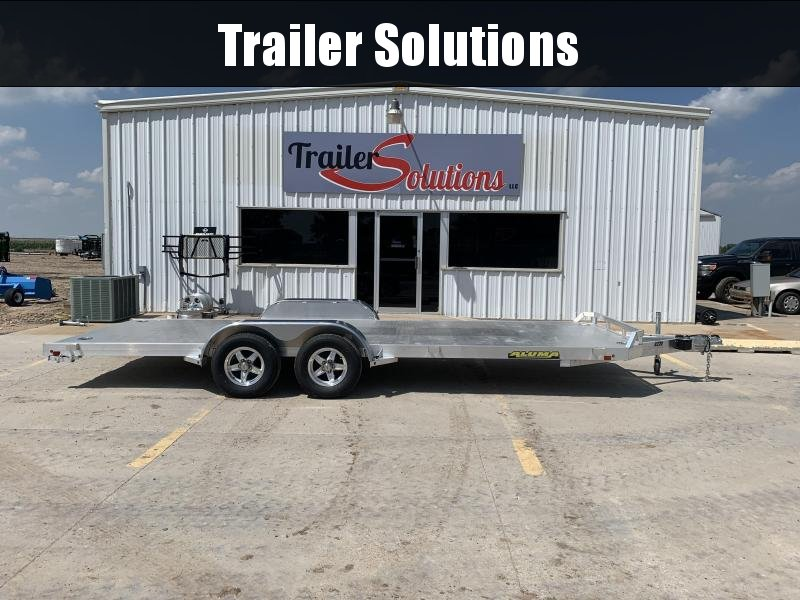 2021 Aluma 8220TA-EL-R-RTD Car / Racing Trailer