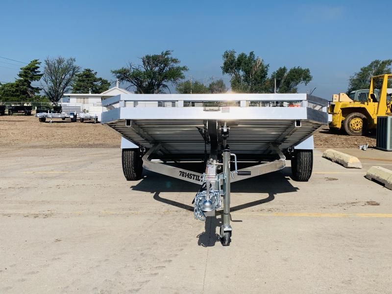 2022 Aluma 14 x 78 Tilt Utility Trailer