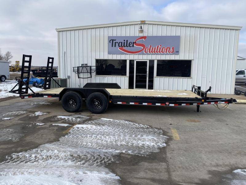 "2021 PJ 22' x 6"" Channel Equipment Trailer"