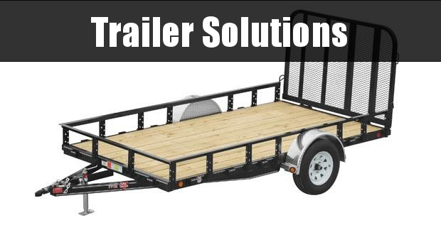 "2021 PJ 12' x 77"" Single Axle Channel Utility Trailer"