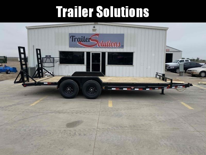 "2021 PJ 20' x 83"" 6"" Channel Equipment Trailer"