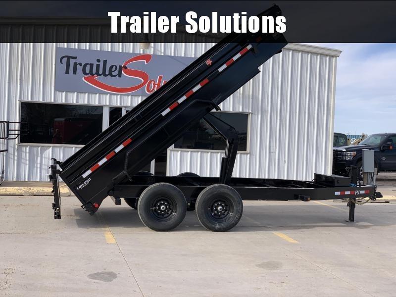 "2021 PJ 14' x 83"" Low Pro Dump Trailer"