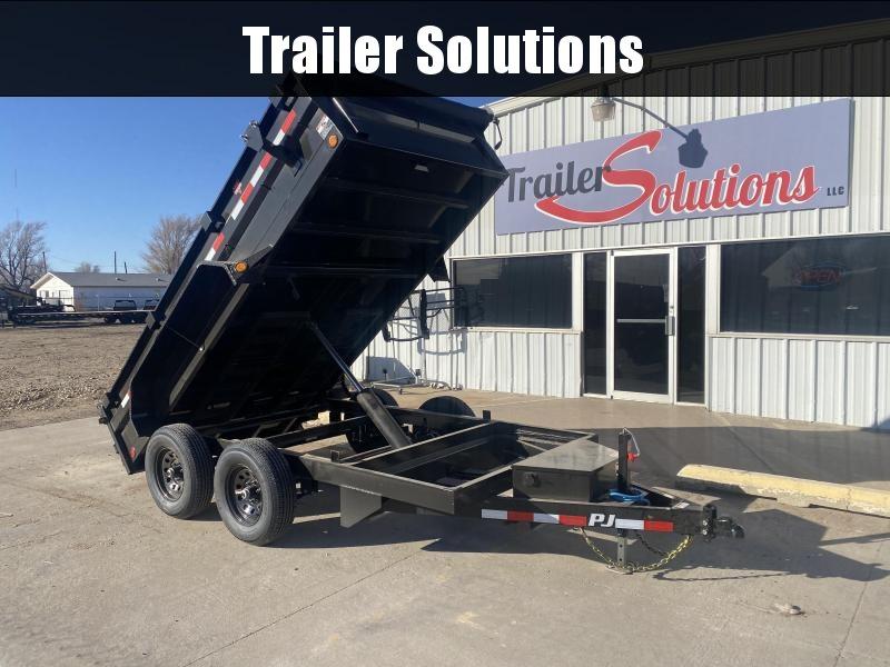 "2021 PJ 12' x 72"" Tandem Axle Dump Trailer"
