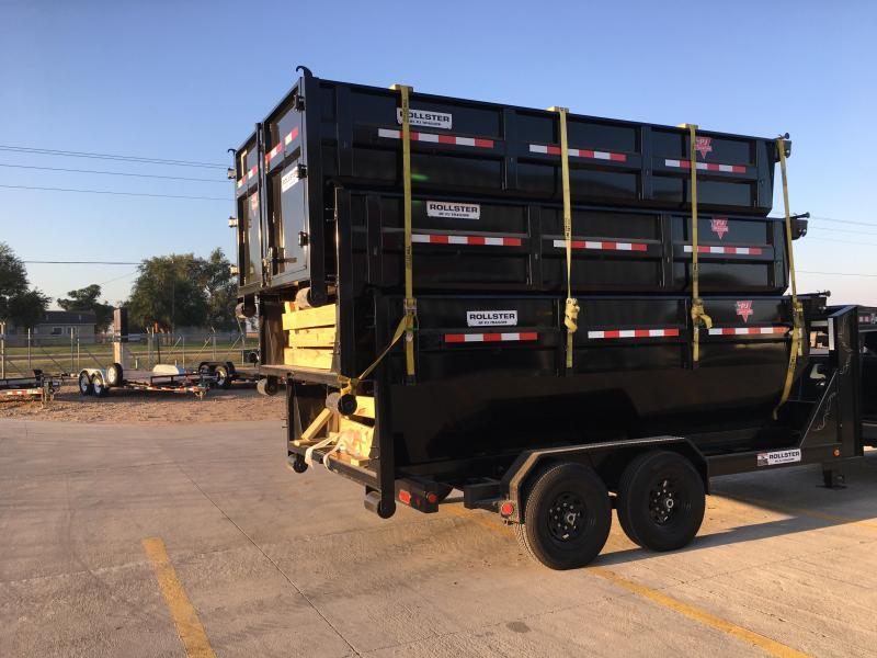 2021 PJ 14' Rollster Roll Off Dump Trailer