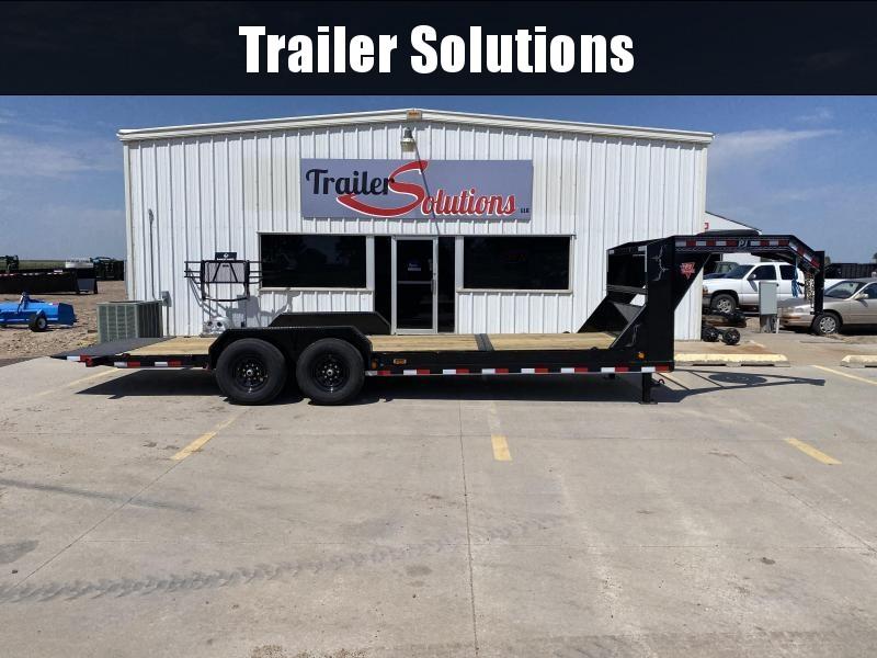 """2021 PJ 22' x 6"""" Channel Equipment Tilt Trailer"""