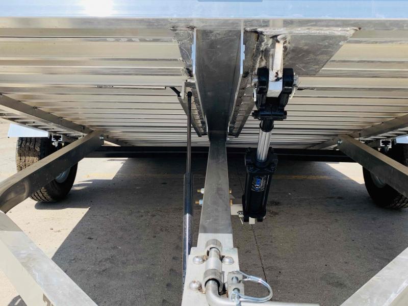 2022 Aluma 12 x 77 Tilt Utility Trailer