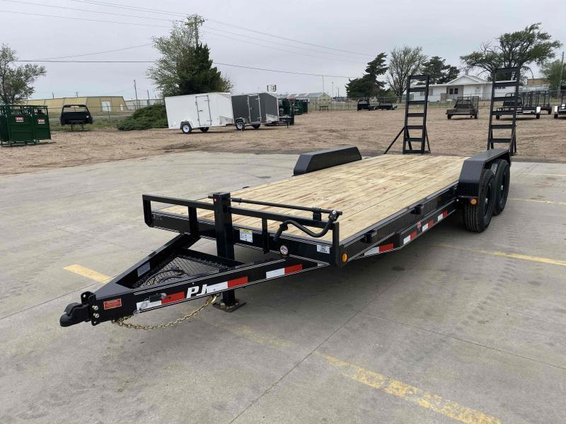 "2021 PJ 20' x 83"" with 6"" Channel Equipment Trailer"