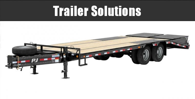 """2022 PJ 30' x 102"""" Low Pro Pintle with Duals Trailer"""