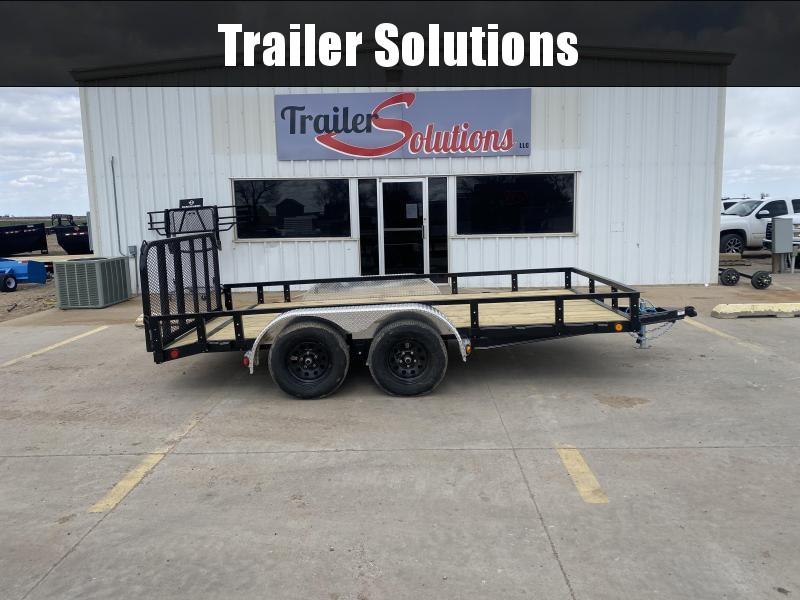 "2022 PJ 14' x 83"" Tandem Axle Channel Utility Trailer"