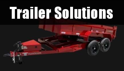 """2022 RawMaxx 12' x 77"""" Dump Trailer"""
