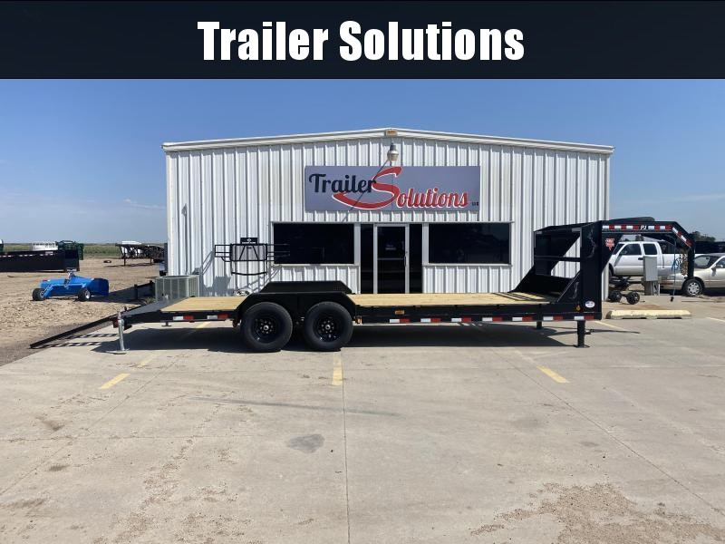 "2021 PJ 24' x 6"" Channel Equipment Trailer"