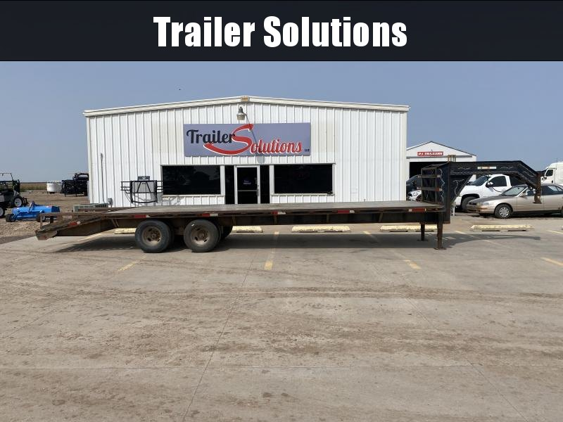 "2000 30' x 102"" Flatbed Trailer"